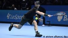 Tennis ATP World Tour Finals Finale in London Andy Murray trifft auf Novak Djokovic