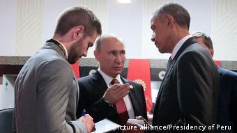 Peru APEC Gipfel Barack Obama und Wladimir Putin in Lima