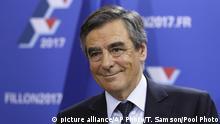 Frankreich Präsidentschafts-Vorwahl François Fillon