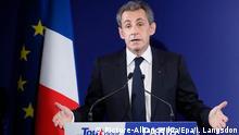 Frankreich Präsidentschafts-Vorwahl Nicolas Sarkozy