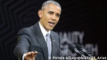Peru APEC Gipfel Barack Obama Pressekonferenz in Lima