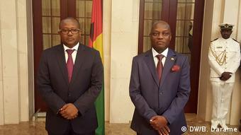Guinea-Bissau Umaro Sissoco und José Mário Vaz