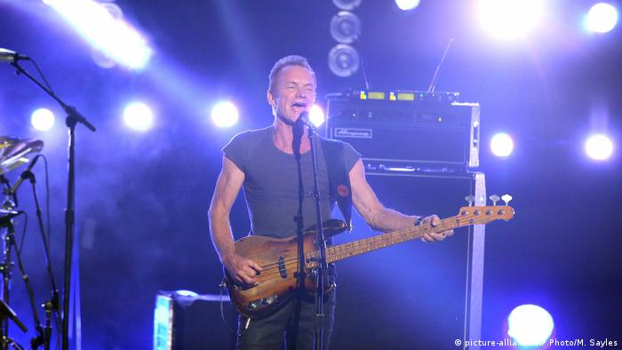 Sting (picture-alliance/AP Photo/M. Sayles)