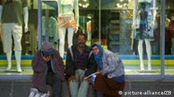 Straßenszene Bulgarien Obdachlose Armut