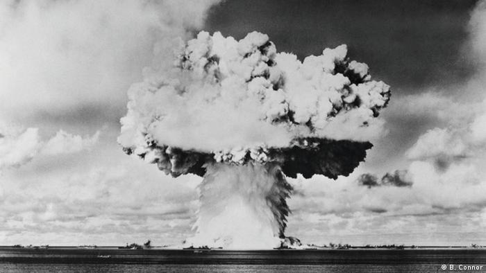 atomic bomb explosion (B. Connor)