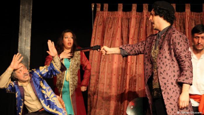 Bericht über das Iranische Theater Festival in Köln (Akhtar Ghasemi)