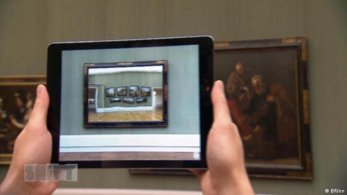 DW Sendung Shift - Augmented-Reality-App Refrakt 1