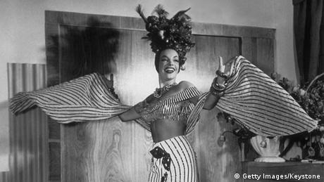 Brasilien Carmen Miranda Sängerin und Samba Tänzerin (Getty Images/Keystone)