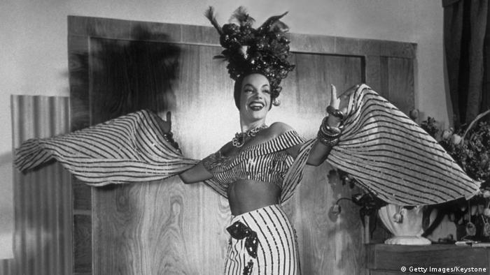 Carmen Miranda (Getty Images/Keystone)