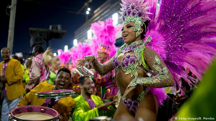 Brasilien Karneval in Rio (Getty Images/B. Mendes)