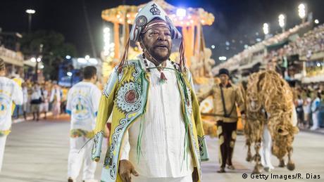 Brasilien Martinho da Vila beim Karneval in Rio (Getty Images/R. Dias)