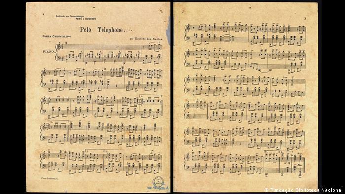 Pelo Telefone score (Fundação Biblioteca Nacional)