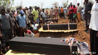 Mosambik Explosion in Tete
