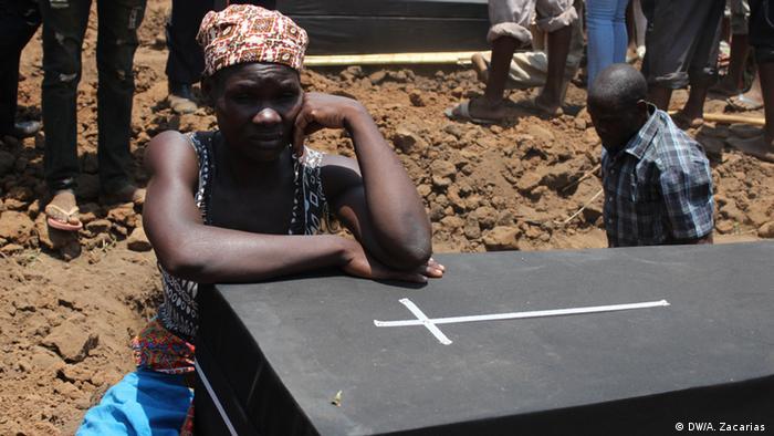 Mosambik Explosion in Tete (DW/A. Zacarias )