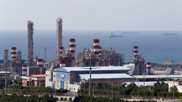 Iran Asaluyeh Raffinerie Industrie Hafenen