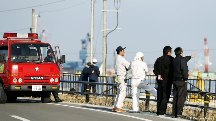 Japan Erdbeben (Reuters/Kyodo)