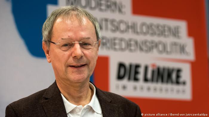 Deutschland Linke-Bundespräsidentschaftskandidat Butterwegge (picture alliance / Bernd von Jutrczenka/dpa)
