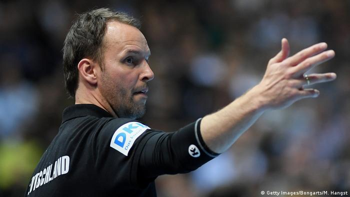 Deutschland Handball Bundestrainer Dagur Sigurdsson (Getty Images/Bongarts/M. Hangst)