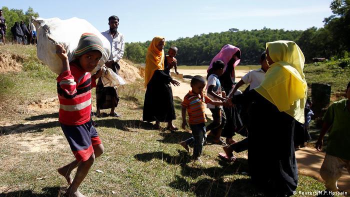 Rohingya Flüchtlinge Myanmar Bangladesch (Reuters/M.P.Hossain)