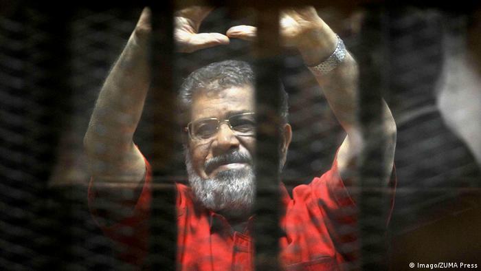Ägypten Mohamed Morsi Ex-Präsident im Gerichtssaal