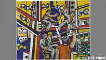 Fernand Léger Constructeurs, 1951 Öl auf Leinwand 160 x 200 cm Kunst in Europa 1945–1968 The Pushkin State Museum of Fine Arts, Moscow. © VG Bild-Kunst, Bonn 2016 http://zkm.de/media/file/de/credits_europa_d.pdf