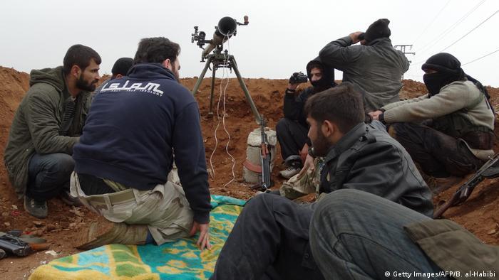 Syrien Ahrar al-Scham Miliz (Getty Images/AFP/B. al-Habibi)