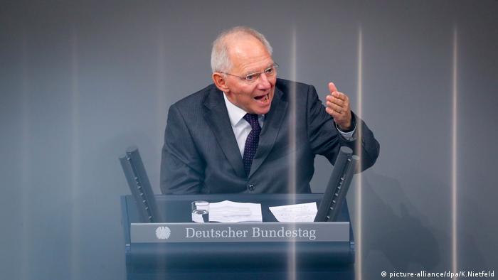 Bundestag zum Haushalts-Etat 2017 (picture-alliance/dpa/K.Nietfeld)