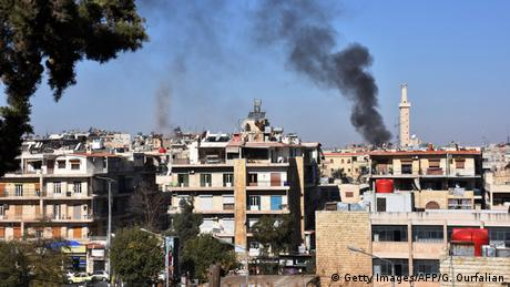 Syrien Angriffe auf Alleppo (Getty Images/AFP/G. Ourfalian)