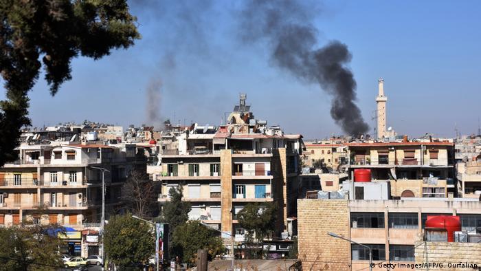 Syrien Angriffe auf Alleppo