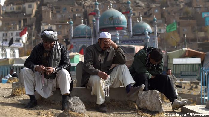 Afghanistan Beerdigung nach Angriff