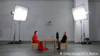 Marina Abramovic Performance MoMA in New York