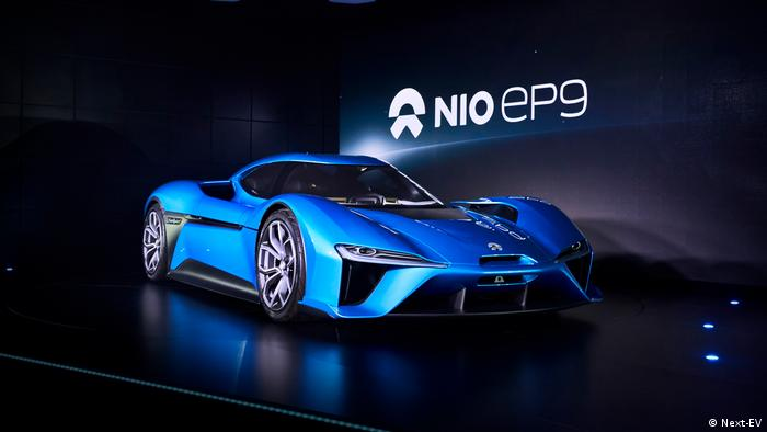 NIO EP9 launch image