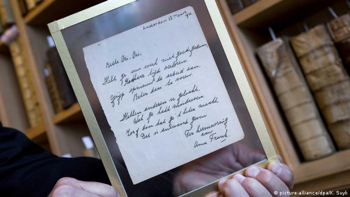 Niederlande Manuskript von Anne Frank vor Versteigerung in Haarlem