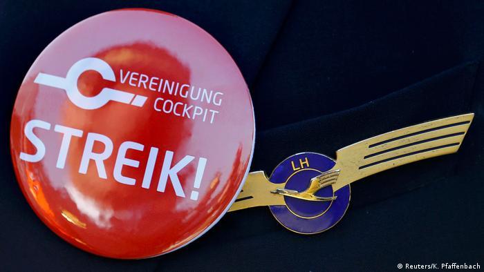Vereinigung Cockpit, Lufthansa, страйк