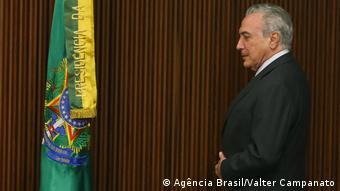 Brasilien Michel Temer in Brasilia