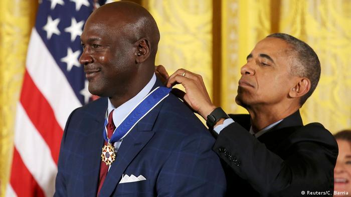 USA Freiheitsmedaillen-Zeremonie in Washington (Reuters/C. Barria)