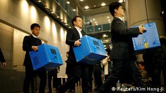 Südkorea Durchsuchung der Samsung Firmenzentrale