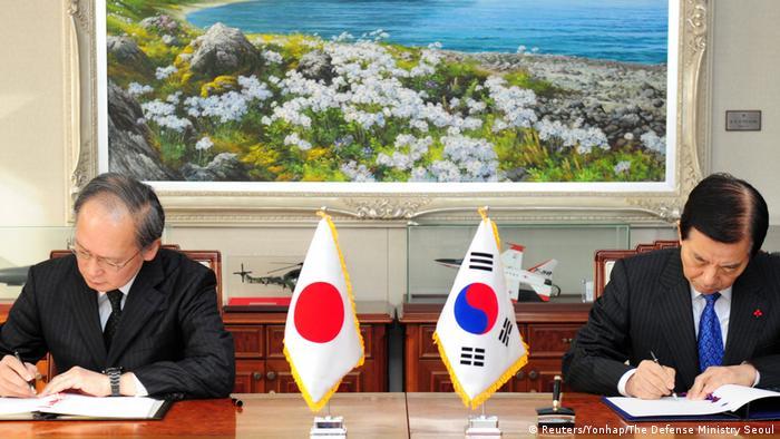 Südkorea und Japan unterzeichnen Militärabkommen zu Nordkorea (Reuters/Yonhap/The Defense Ministry Seoul)