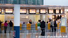 Deutschland Lufthansa-Pilotenstreik in München
