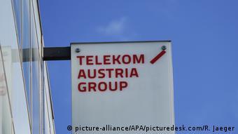 Österreich Banner Telekom Austria (picture-alliance/APA/picturedesk.com/R. Jaeger)