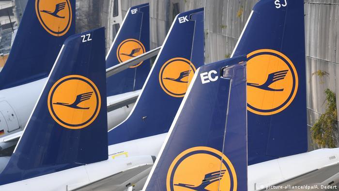 Deutschland Lufthansa-Pilotenstreik in Frankfurt