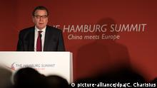 Deutschland Auftakt Hamburg Summit: China meets Europe