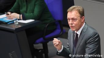 Deutschland Generaldebatte im Bundestag zum Haushalts-Etat 2017 Oppermann
