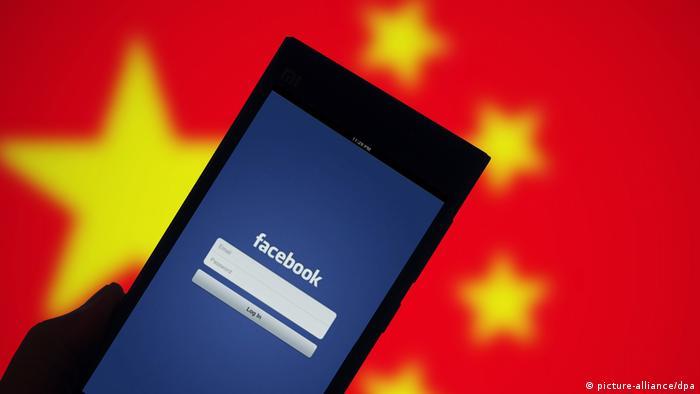 Facebook China Symbolbild