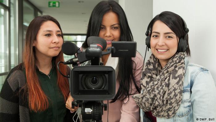 DW Akademie Studiengang International Media Studies Studenten