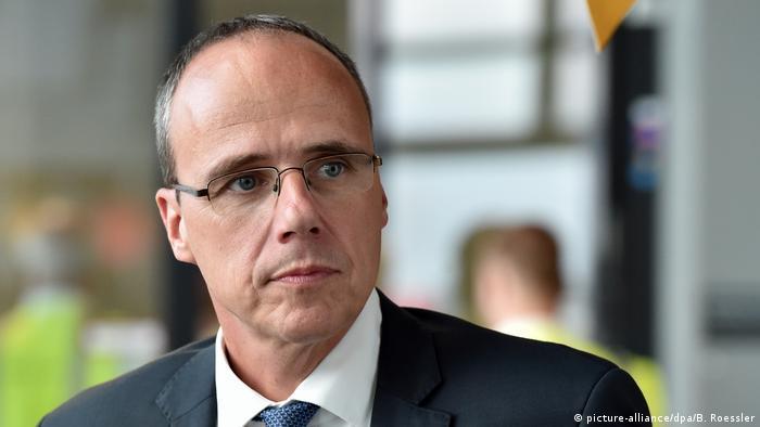 Peter Beuth, ministrul regional de Interne din Hessa