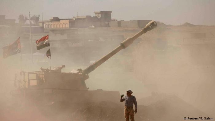 Irak Kämpfe um Mossul (Reuters/M. Salem)