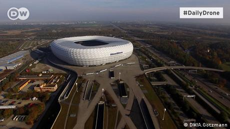 Daily Drone Allianz Arena ohne (DW/A.Götzmann)
