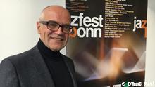 Beschreibung: Das nächste Jazzfest Bonn findet vom 12. bis 27. Mai 2017 statt. Am 23.11. 2016 wurde das Programm vorgestellt.