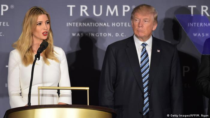Washington Eröffnung Trump International Hotel (Getty Images/AFP/M. Ngan)